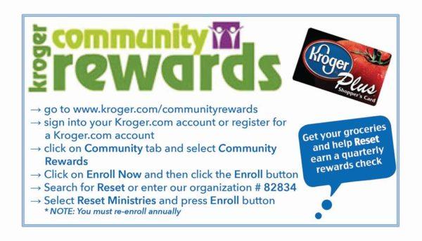 Kroger Community Rewards to support drug treatment center