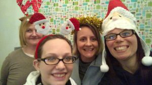 Christmas at the Women's Sober Living House