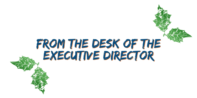 from the desk of the executive director